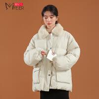 蜜妃儿棉服女冬季短款韩版宽松面包服ins外套加厚小个子棉袄衣潮