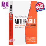 【中商原版】反脆弱:事情获得障碍 英文原版 Antifragile: Things That Gain from Di