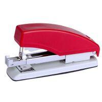 齐心B3017按键式省力订书机可爱便携订书器用24/6钉12号