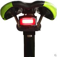 山地自行车尾灯智能报警器警示灯单车配件USB无线电铃铛遥控器