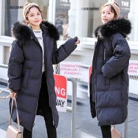 韩版宽松棉袄中长款加厚保暖外套2019新款冬装孕妇棉衣