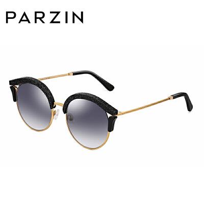 帕森摩登时尚优雅太阳镜女镂空个性板材圆框渐变墨镜9797满198减20;299减30。年终型潮,镜情享购!