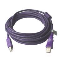 MillionWell 金佳佰业 高速USB2.0 紫色打印线 5米 AM/BM