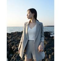 2018女士西装套装韩版女潮修身春款西装外套女秋冬英伦风上衣