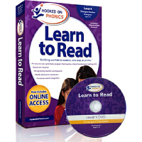 Hooked on Phonics Learn to Read - Level 4 迷上了语音学习阅读阶段绘本第 4级