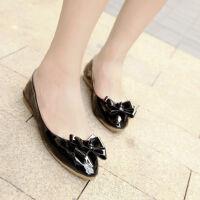 O'SHELL欧希尔新品057-1522韩版平底鞋女士豆豆鞋