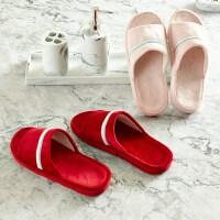 贝赛亚 水晶绒拖鞋 多色可选
