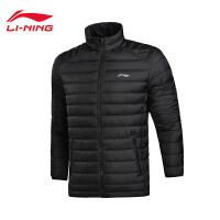 李宁短款羽绒服男士篮球防风透湿保暖90%白鸭绒运动服AYMM085