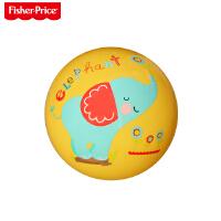 【当当自营】费雪(Fisher Price)儿童玩具球 宝宝小皮球拍拍球9寸(黄色 赠送打气筒)F0516H3