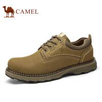 camel/骆驼休闲鞋  冬季新款 头层磨砂皮工装鞋 情侣款休闲鞋