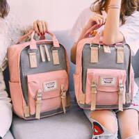 书包女高中大学生背包初中生校园甜甜圈双肩包女妈咪包电脑包