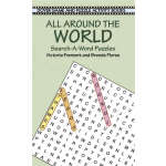 All Around the World Search-a-Word Puzzles (【按需印刷】)