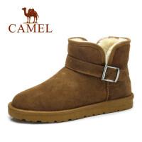 camel骆驼雪地靴 棉鞋男冬季保暖休闲加绒靴雪地靴男