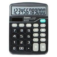 齐心计算器837大屏幕太阳能双电源办公学生财务计算机