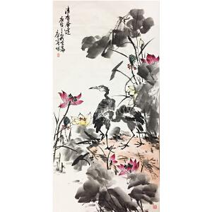 康宁《清香逸远》著名画家