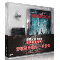 正版 盗梦空间礼盒陀螺版DVD9 莱昂纳多迪卡普里奥