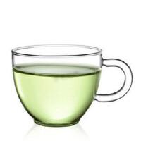 自由城 耐热玻璃茶杯子 红茶杯 功夫茶具 创意品茗杯 一对两个 CF-104X2 口杯 闻香杯 玻璃一水杯 HB-4
