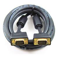 秋叶原 Q-550 8米 VGA逐行扫描线 视频线镀金头 电脑接电视线