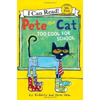 Pete the Cat: Too Cool for School (My First I Can Read)皮特猫上
