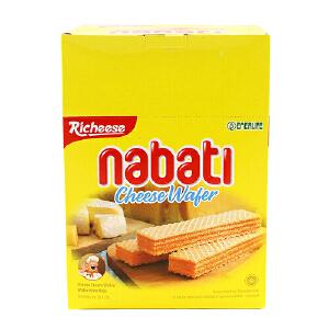 印尼进口 丽芝士 Richeese 纳宝帝奶酪威化饼干 460g