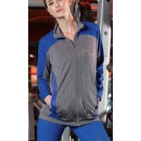 透气速干 运动跑步外套上衣女修身显瘦长袖健身 瑜伽服    支持礼品卡