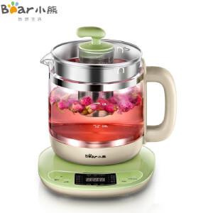 小熊(Bear)养生壶全自动 多功能加厚玻璃中药壶分体煎药壶 煮茶壶 电热烧水壶 YSH-B18T1