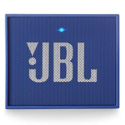 JBL GO音乐金砖 随身便携HIFI 蓝牙无线通话音响 户外迷你小音箱   蓝色全国联保  长续航 无线通话