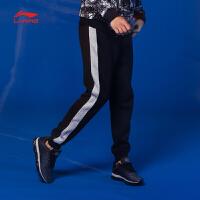 李宁卫裤男士训练系列长裤休闲裤子男装收口运动裤AKLM805