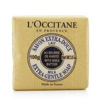 L'occitane/欧舒丹 乳木果牛奶味护肤香皂100g