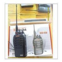实达 SD-G3 手持对讲机 全频段 超值 赠送耳机
