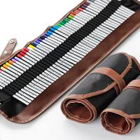 卷式笔帘 36支装/48支装/72支装 铅笔笔帘|彩铅笔袋 帆布笔袋 颜色随机发货