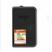 爱国者(aigo)HD806 USB3.0数据线 移动硬盘 抗震防摔移动硬盘 黑色 1T