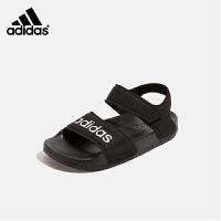 【到手价:189元】阿迪达斯adidas童鞋2019夏季新款男女童软底凉鞋中小童露趾沙滩鞋(3-15岁可选)G2687