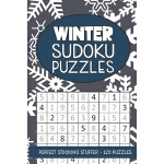 预订 Winter Sudoku Puzzles: Seasonal Numbers Solve Activity B