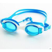 水防雾大框游泳眼镜儿童泳镜 男童女童高清防 宝宝平光游泳装备可礼品卡支付