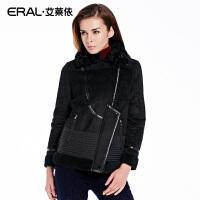ERAL/艾莱依冬季韩版轻薄羽绒服女长袖白鸭绒12030-EDAB