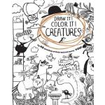 预订 Draw It! Color It! Creatures [ISBN:9780544779792]