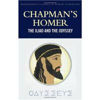 英文原版 查普曼荷马史诗:伊利亚特和奥德赛Chapman's Homer: The Iliad and The Ody