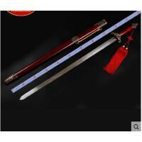 不锈钢平面蝙蝠太极剑锌合金男女士太极剑武术表演训练软剑 可礼品卡支付