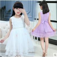 女童甜美可爱连衣裙户外新款童装韩版时尚儿童公主裙中大童宝宝小女孩裙子