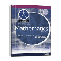 培生原版进口国际文凭课程IB  Diploma 数学 Mathematics - Standard Level + eText bundle  高中