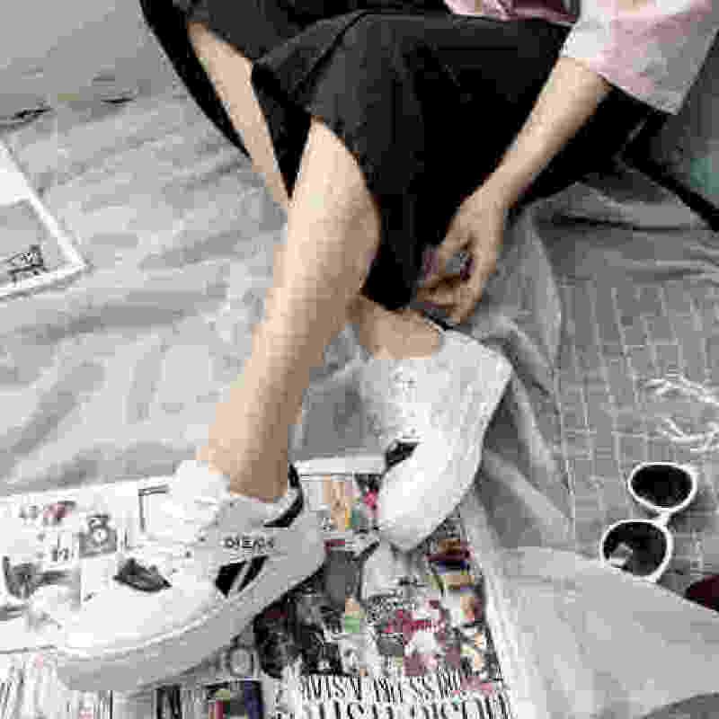ELEISE美国艾蕾莎新品060-7910休闲女士板鞋