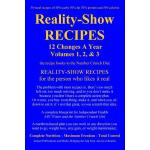 预订 Reality-Show RECIPES: 12 Changes A Year - Volumes 1, 2,