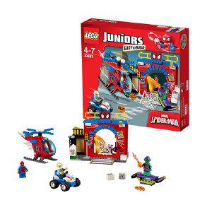 [当当自营]LEGO 乐高 小拼砌师系列 蜘蛛侠保卫战 积木拼插儿童益智玩具 10687