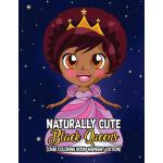 预订 Naturally Cute Black Queens Chibi Coloring Book Midnight