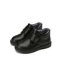 【159元任选2双】迪士尼Disney童鞋女童冬季保暖靴子短靴 S73585 S73599 S73605