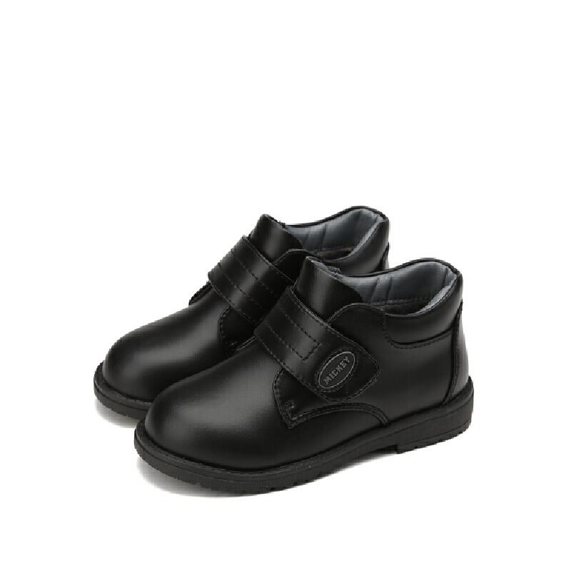 【159元任选2双】迪士尼Disney童鞋女童冬季保暖靴子短靴 S73585 S73599 S73605 【开学季:限时159元2双】