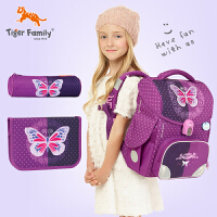 儿童书包男小学生女孩背包1-3年级可爱轻便护脊双肩包