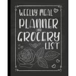 预订 Weekly Meal Planner and Grocery List: Get Organized with