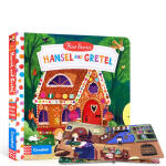 【中商原版】动手小故事 糖果屋 英文原版 Hansel and Gretel (First Stories) 纸板机关